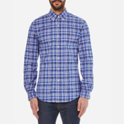 Polo Ralph Lauren Men's Long Sleeved Shirt - Deep Blue