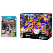 Splatoon Wii U Premium Pack + Minecraft: Wii U Edition