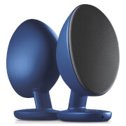 KEF EGG Bluetooth Stereo Speakers - Blue
