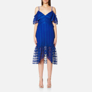 Three Floor Women's Enfold Dress - Blue