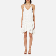 Three Floor Women's Summer Swirl Dress - White