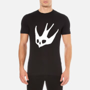McQ Alexander McQueen Men's Large Swallow Crew Neck T-Shirt - Black
