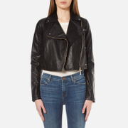 Versace Jeans Women's Biker Jacket - Black