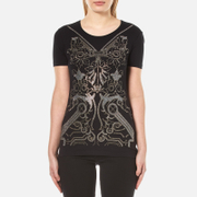 Versace Jeans Women's Printed T-Shirt - Black