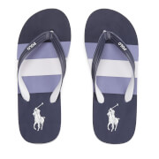 Polo Ralph Lauren Men's Whittlebury II Flip Flops - Navy Multi