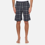 Tommy Hilfiger Men's Icon Checked Jersey Shorts - Navy Blazer