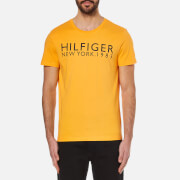 Tommy Hilfiger Men's Organic Hilfiger T-Shirt - Citrus Yellow