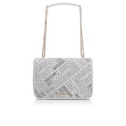 Love Moschino Women's Love Printed Shoulder Bag - White