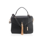 Dune Women's Delina Tassel Box Bag - Black