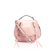 Rebecca Minkoff Women's Small Vanity Saddle Bag - Lilac Rose