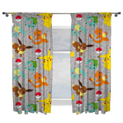 Pokémon Characters Curtains