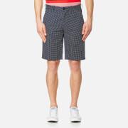 Lacoste L!ve Men's Bermuda Polka Dot Shorts - Navy Blue/White