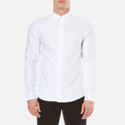 A.P.C. Men's Chemise Button Down Shirt - Blanc