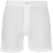 A.P.C. Men's Cabourg Boxer Shorts - Blanc
