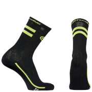 Northwave Flag Socks - Black/Yellow