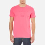 GANT Men's Tonal Gant Shield T-Shirt - Bright Magenta