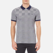 GANT Men's Oxford Square Pique Rugger Polo Shirt - Shadow Blue