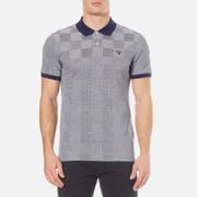 GANT Men's Oxford Square Pique Rugger Polo Shirt - Shadow Blue