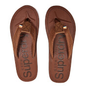 Superdry Men's Cove Toe Post Sandals - Brown