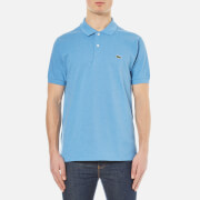 Lacoste Men's Short Sleeve Pique Polo Shirt - Horizon Blue Chine