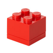 LEGO Mini Box 4 - Bright Red