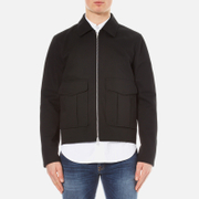 rag & bone Men's Eddie Zipped Jacket - Black
