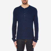 rag & bone Men's Giles Henley - Bright Blue