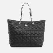 Karl Lagerfeld Women's K/Kuilted Shopper Bag - Black