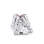 Karl Lagerfeld Women's K/Rocky Stud Drawstring Bag - White
