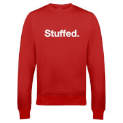 Stuffed Christmas Sweatshirt - Red