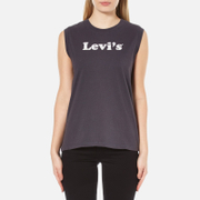 Levi's Women's On Tour Tank Top - Cooper Tank Top Navy