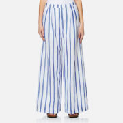 Paisie Women's Stripe Palazzo Trousers - Multi