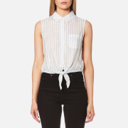 Guess Women's Clara Shirt - Dizzy Stripes