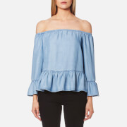 Guess Women's Leonie Top - Summer Seawash
