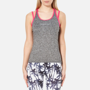 Superdry Women's Superdry Gym Duo Strap Vest - Charcoal Grit