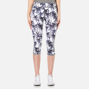 Superdry Women's Superdry Core Gym Capri Leggings - Electric Palm Mono