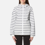 Superdry Women's Marina Jacket - White/Navy Stripe