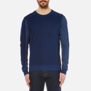 Scotch & Soda Men's Crew Neck Sweatshirt - Indigo