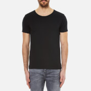 Scotch & Soda Men's Crew Neck T-Shirt - Black