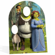 Shrek Stand In Kartonnen Figuur - Kindermaat