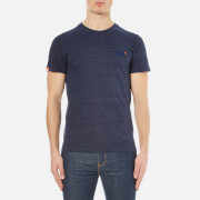 Superdry Men's Orange Label Vintage Embroidered T-Shirt - Atlantic Navy Grit