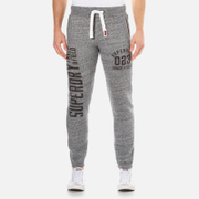 Superdry Men's Trackster Joggers - Flint Grey Grit