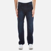Superdry Men's Biker Tapered Jeans - Blue