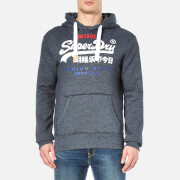 Superdry Men's Premium Goods Tri Hoody - Ink True Grit