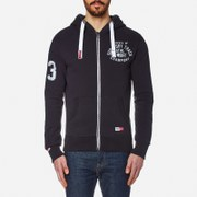 Superdry Men's Trackster Vintage Zip Hoody - Truest Navy