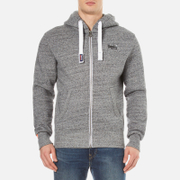 Superdry Men's Orange Label Ziphood - Flint Grey Grit
