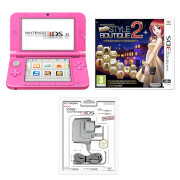 Nintendo 3DS XL Pink + Nintendo Presents: New Style Boutique 2 - Fashion Forward