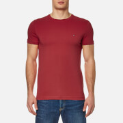 Tommy Hilfiger Men's New Stretch Crew Neck T-Shirt - Apple Red