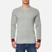 Tommy Hilfiger Men's Falko Crew Neck Sweatshirt - Cloud Heather