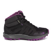 The North Face Women's Litewave Fastpack Mid GTX Walking Boots - TNF Black/Wood Violet